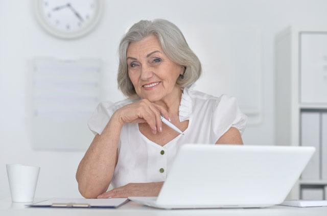 web-savvy grandma