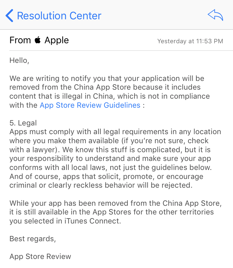Apple Removes Vpn Apps From China App Store