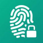 Digital fingerprint with a padlock