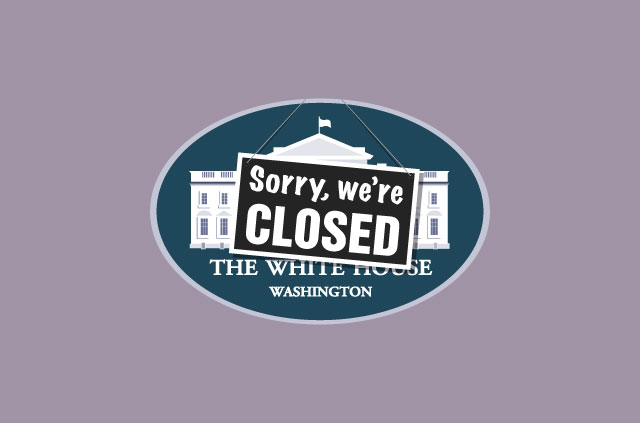 The U.S. government shutdown causes privacy problems