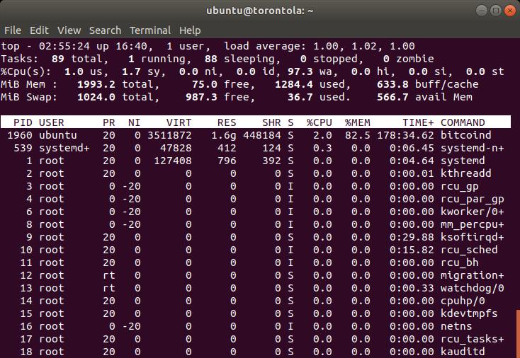A screenshot of Terminal.