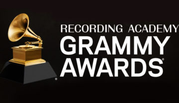 Logo of the Grammy Awards.