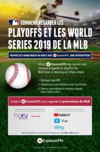 Infographie - playoffs 2019 MLB