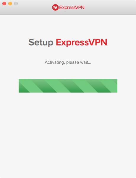 "Screenshot of ""Activating, please wait..."""
