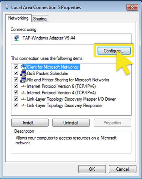 click-configure