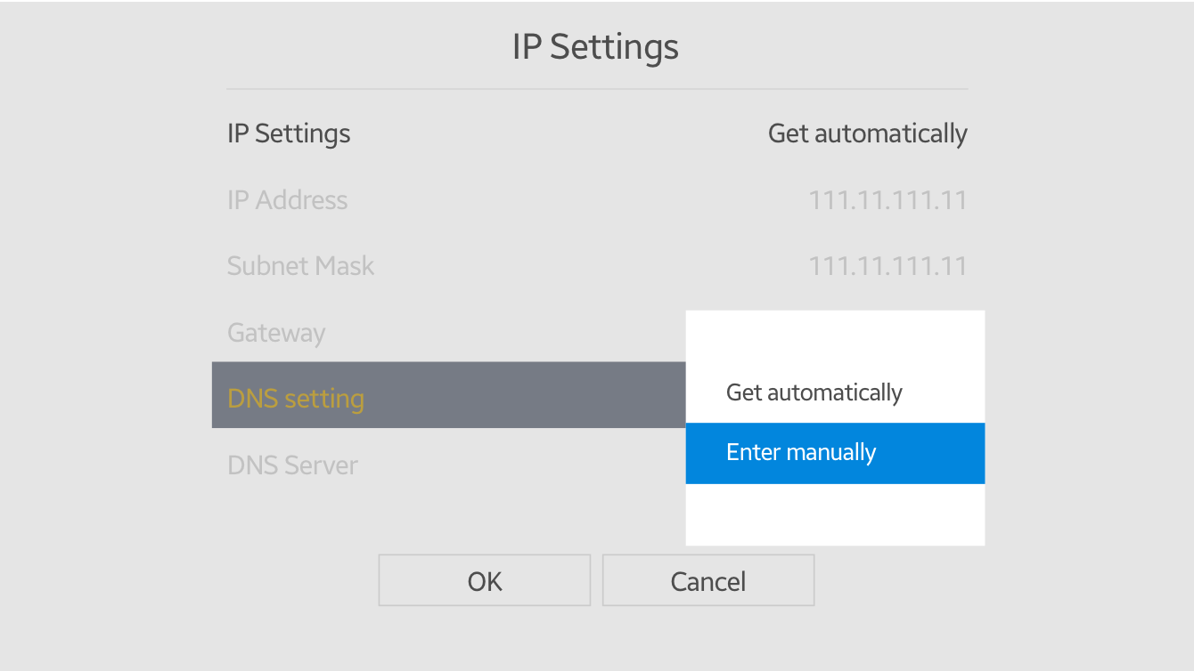 "Select ""Enter manually."""