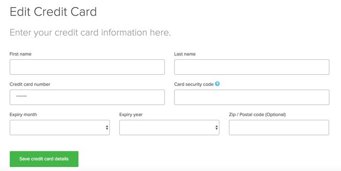 editar tarjeta de crédito de expressvpn