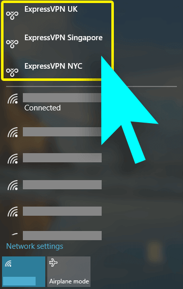 switch vpn servers